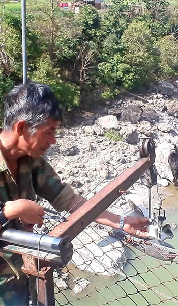 Gauge Installation and Intensive Discharge measurement of Karnali River for Betan Karnali Hydroelectric Project