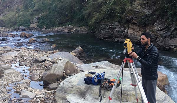 Topographic Survey and Mapping of Machha Khola Hydropower Project