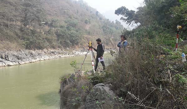 Topographic Survey and Mapping for Bridge Design Project