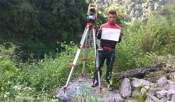 Detailed Topographical Survey and Initial Geological Assessment of Hadi River Bridge Site