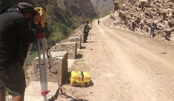 Reservoir Survey of Bheri 4 Storage Hydropower Project