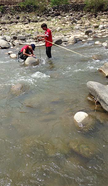 Discharge Measurement of Surnaya River
