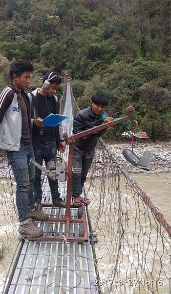 Gauge Installation and Intensive Discharge Measurement of Arun River for Kimathanka Arun Hydroelectric Project